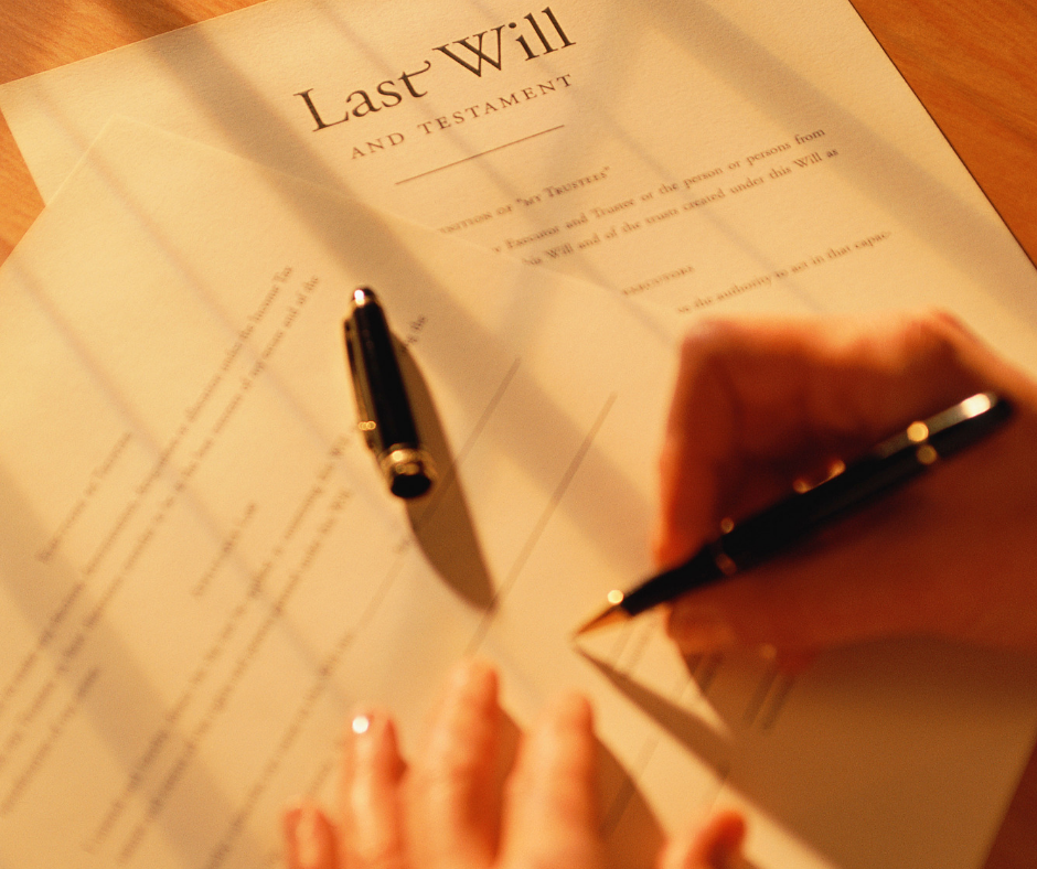 Last Will & Testament Bequests
