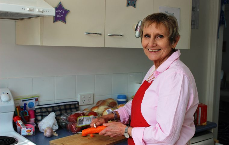 Rhian our wonderful volunteer