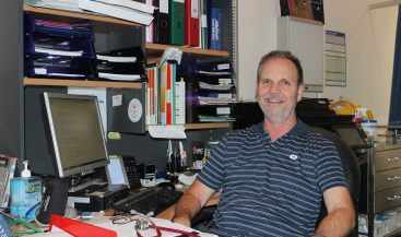 Dr Andrew - 24 years at BYS