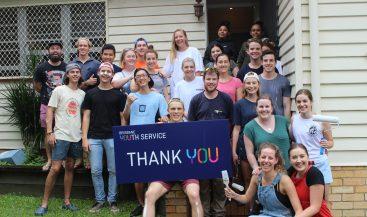 Brisbane Youth Service Phoenix House Painting Volunteers