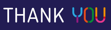 Thank You banner 400x100px