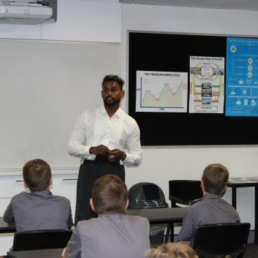 Shaun-St-Joseph's-College-Gregory-Tce-Rice-Lunch-Day-Yr7-students
